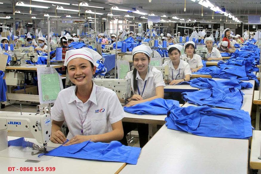 tuyển lao động may mặc nhật bản