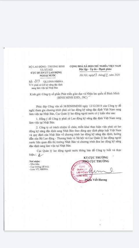 Visa Ky Nang Dac Dinh